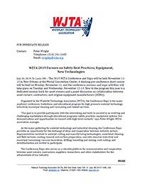 WJTA 2019 Press Release